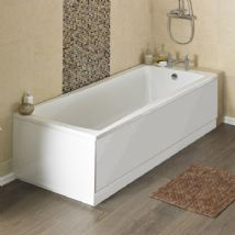 Square Single Ended Bath with panel options